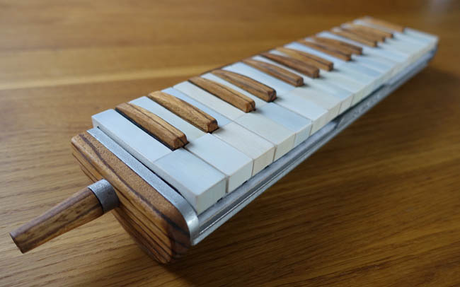 wooden melodica