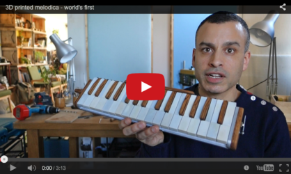 3D printed melodica – world's first!